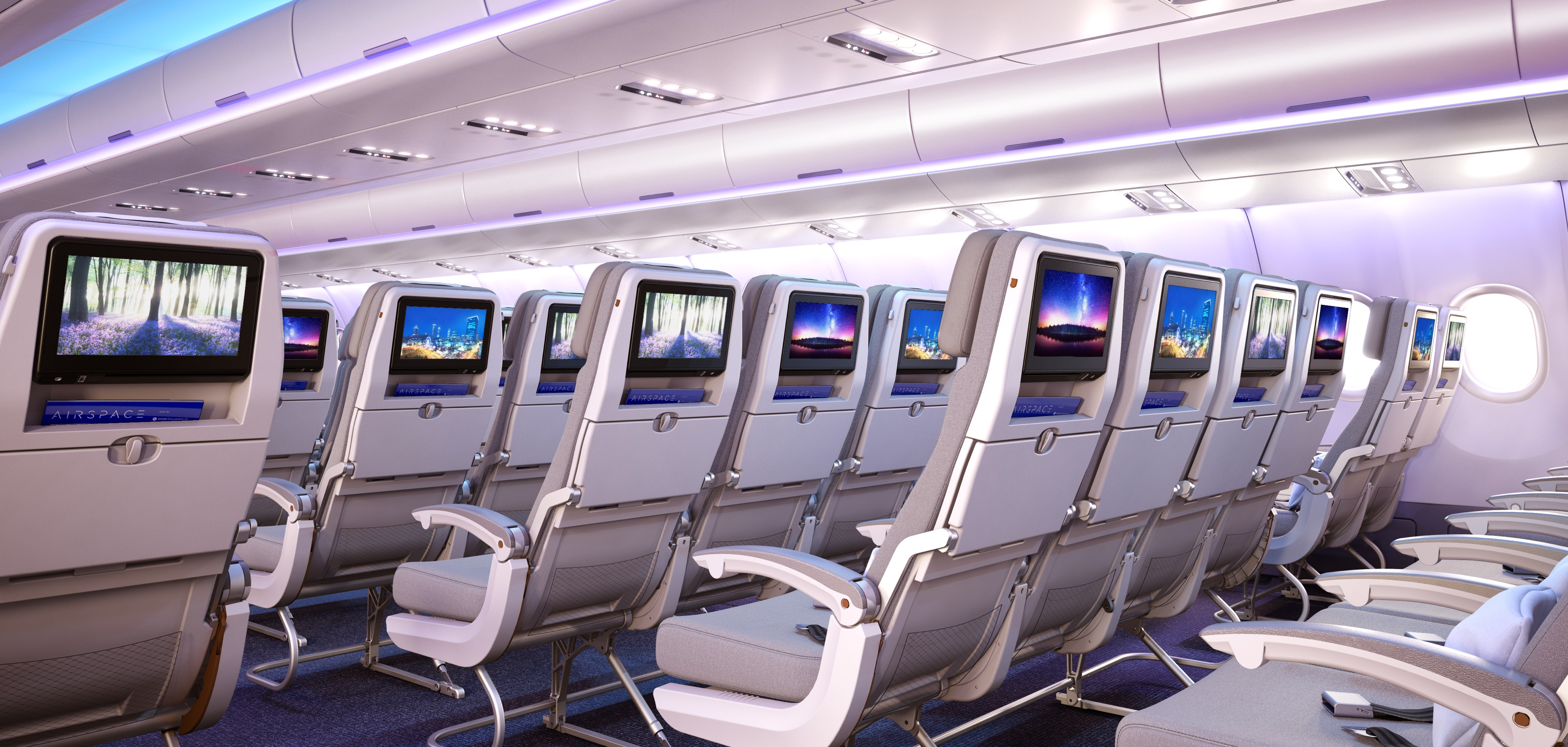 Airbus announces new interior concept for best-selling aircraft ...