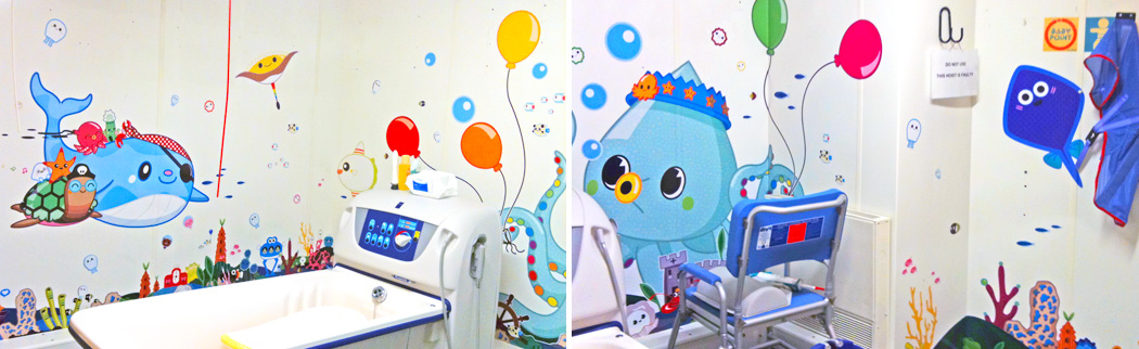The ongoing Artfelt initiative at Sheffield Children's Hospital to transform environments