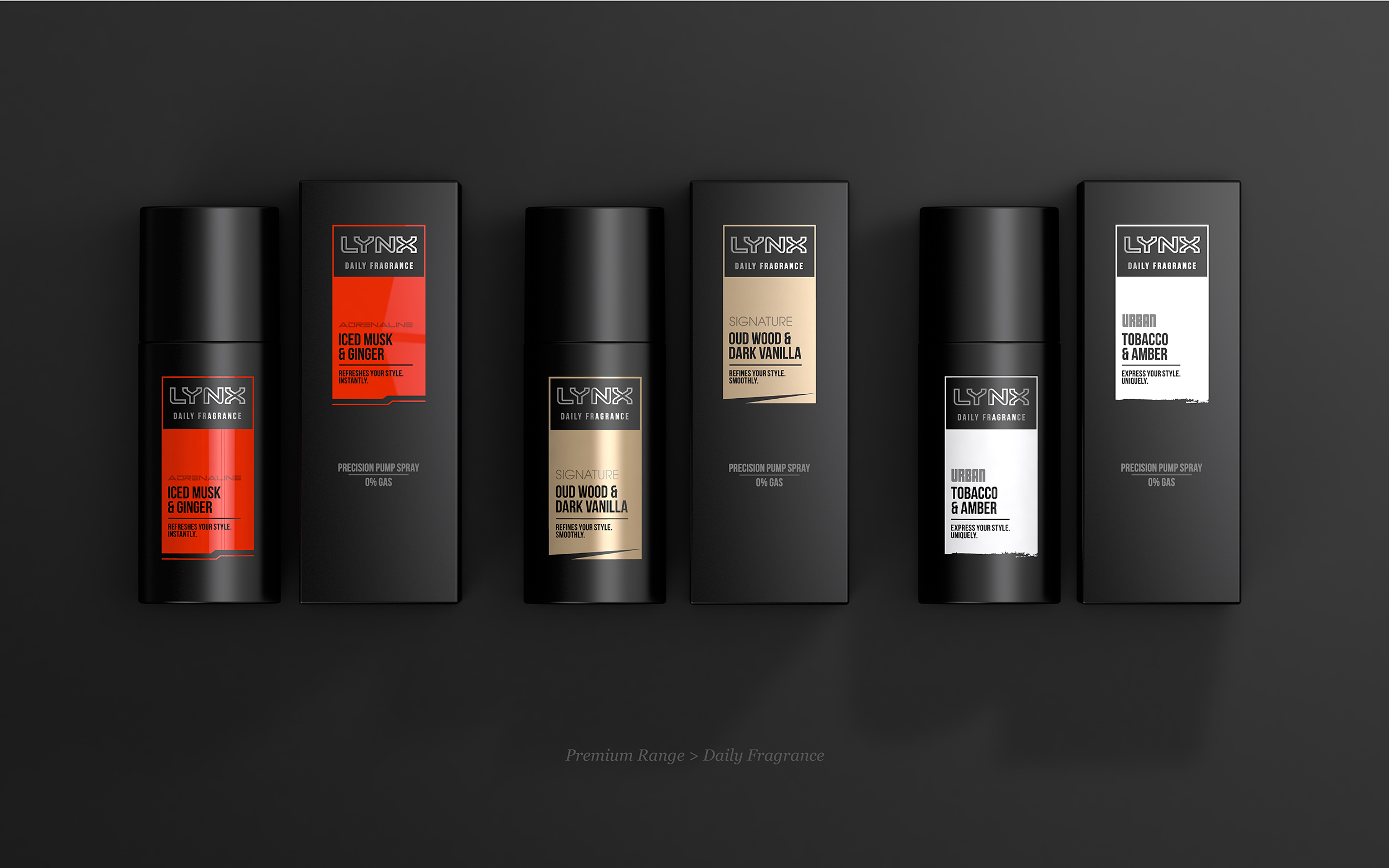 lynx looks to �own black� with rebrand design week