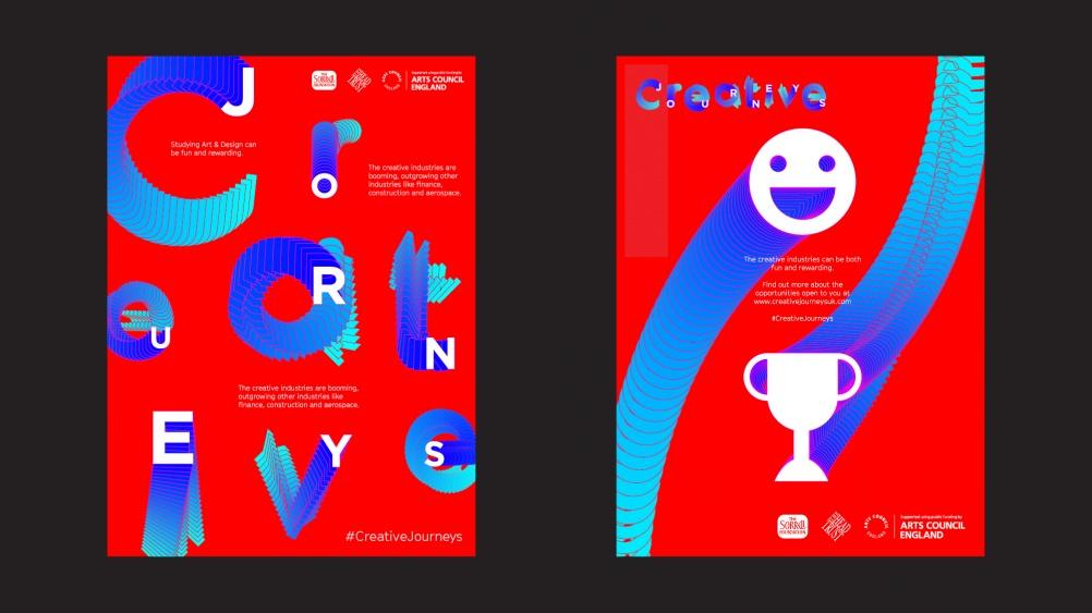 12 Creative journeys posters