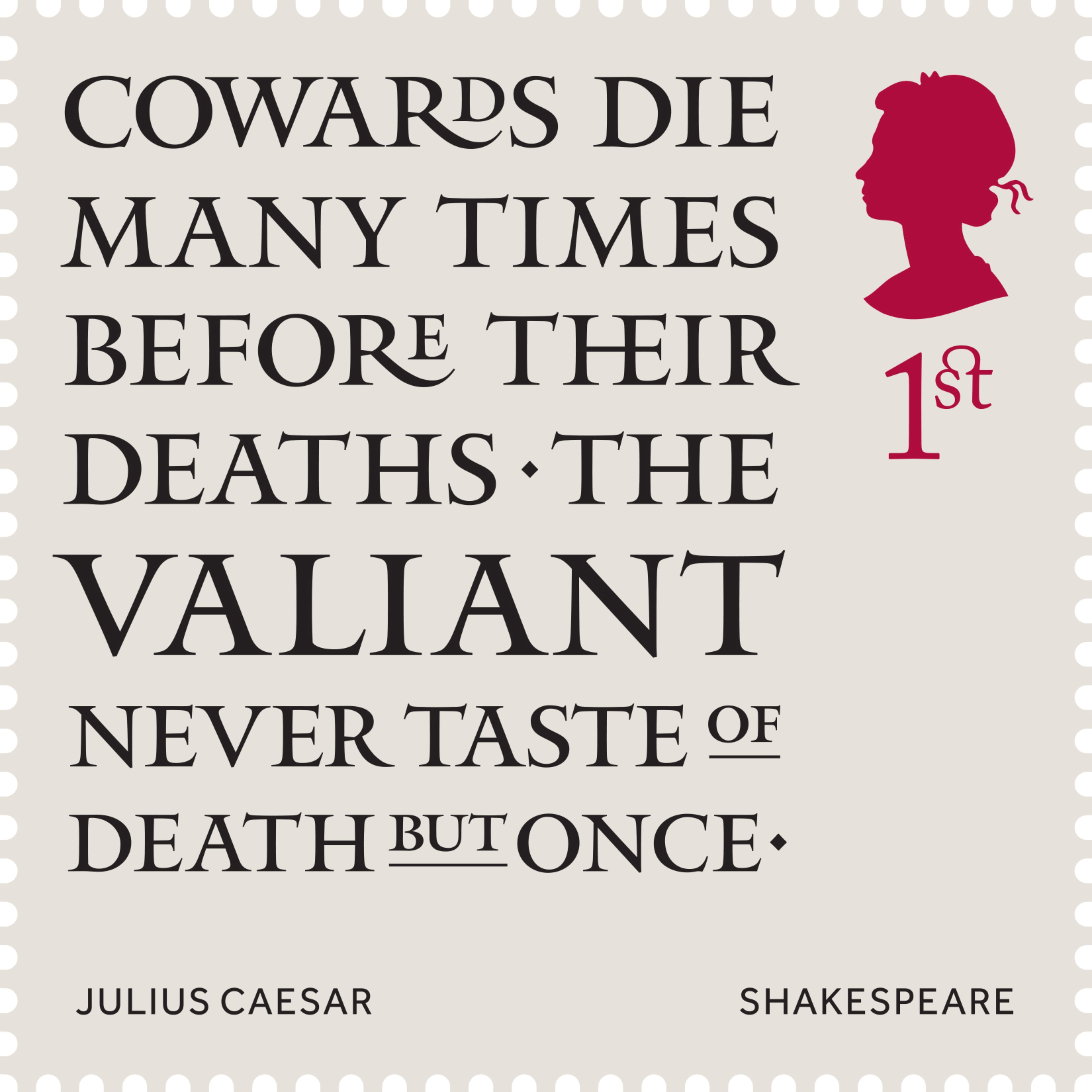 Caesar Shakespeare 400%