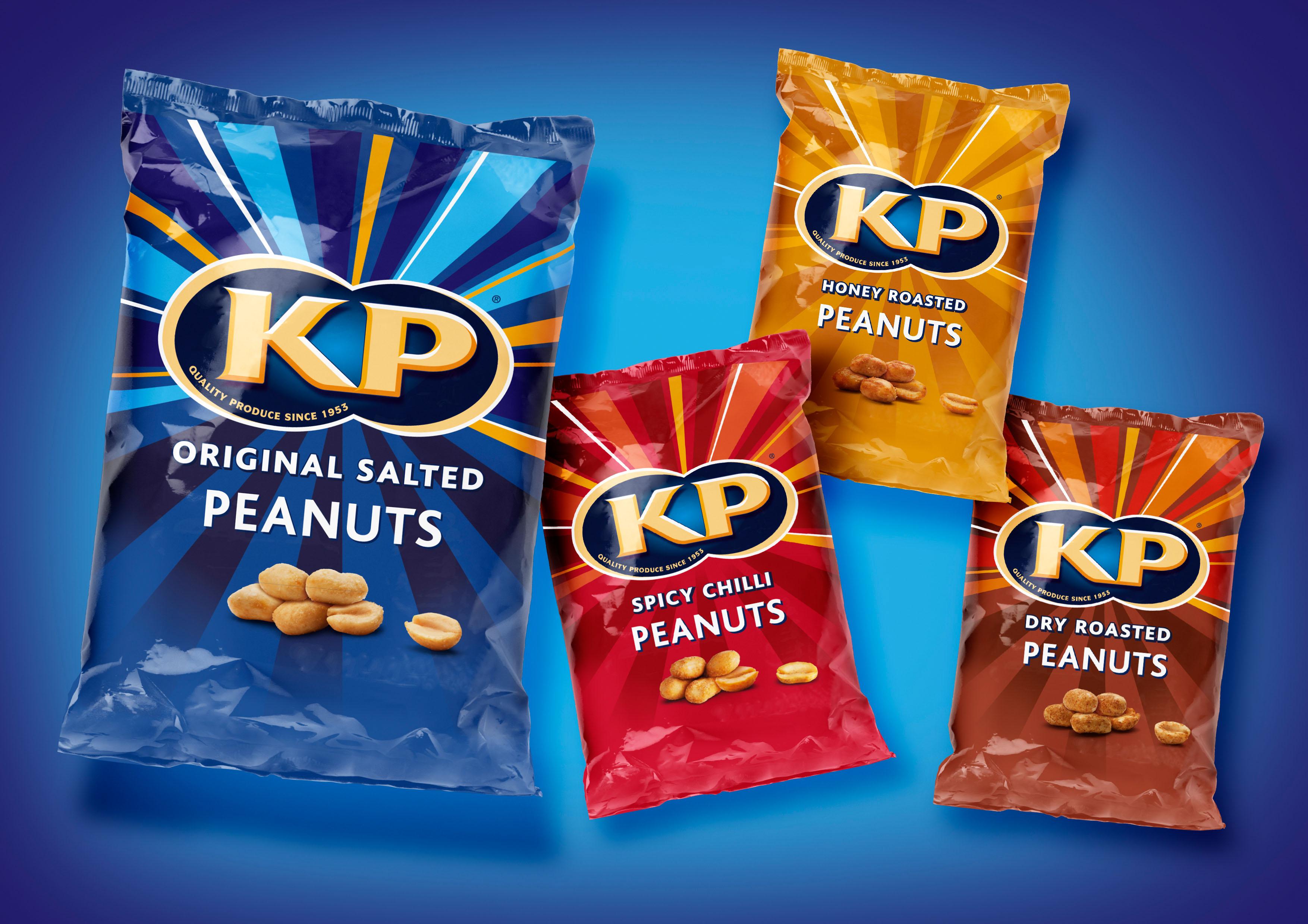 Kp Nuts Reveals Quot Vibrant Quot New Packaging Design Design Week