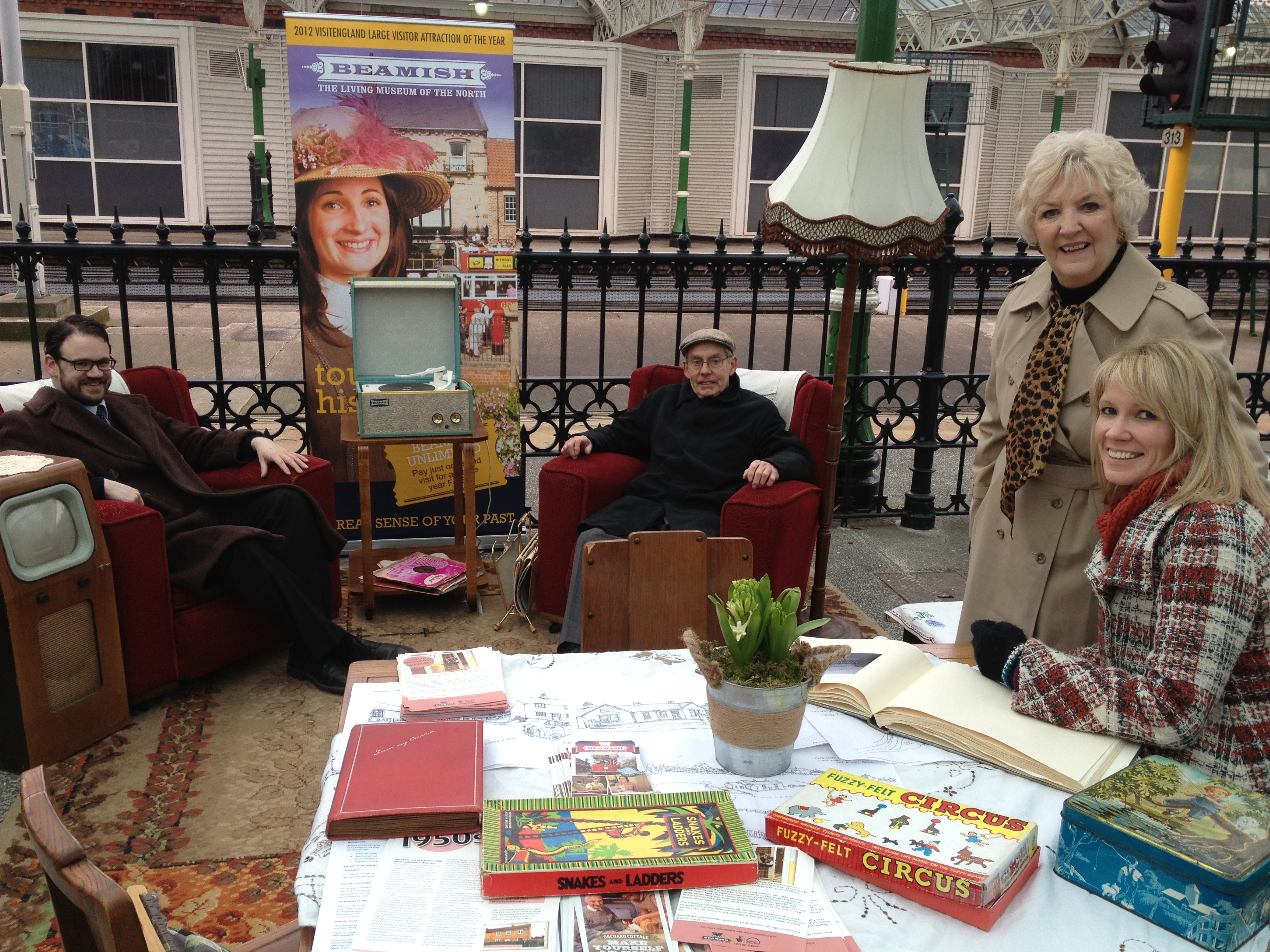 Beamish Museum Nominate Your House at Tynemouth Market[1]