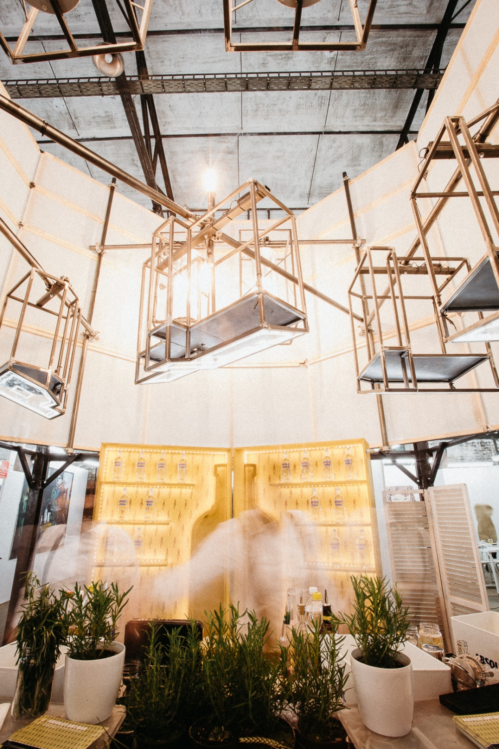 Michele Ormas, installation view of Architectures of the Night, an Absolut Art Bar at Kolner Liste 2016. Courtesy Absolut (3)