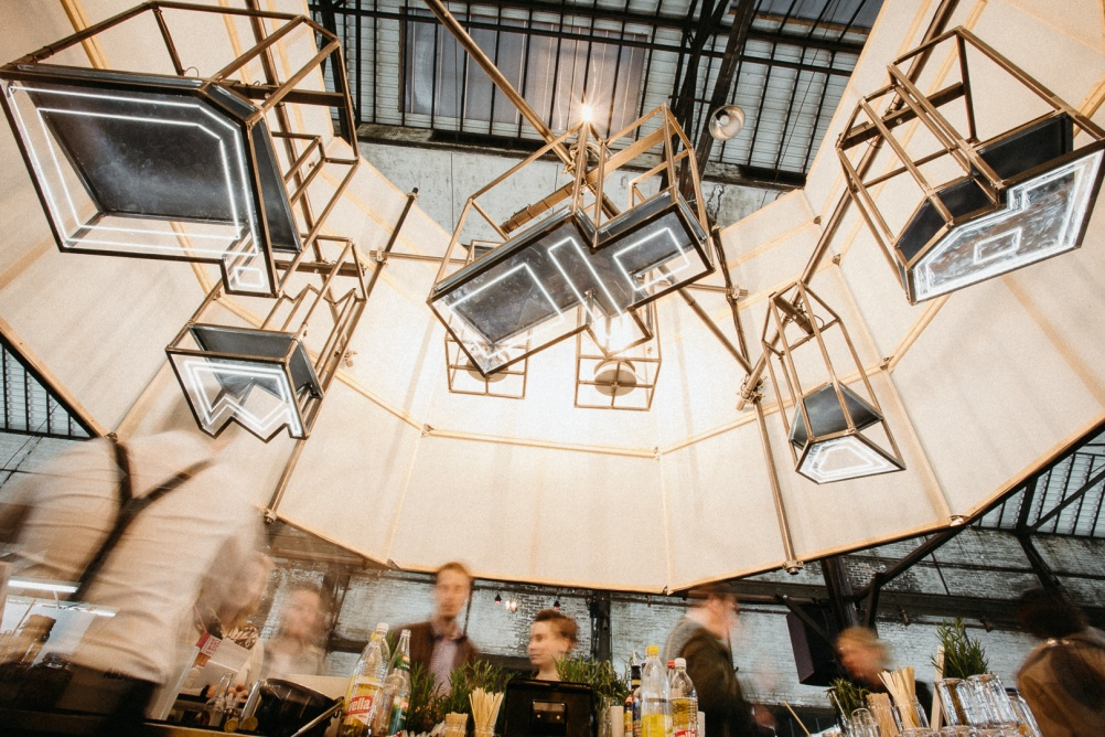 Michele Ormas, installation view of Architectures of the Night, an Absolut Art Bar at Kolner Liste 2016. Courtesy Absolut (4)