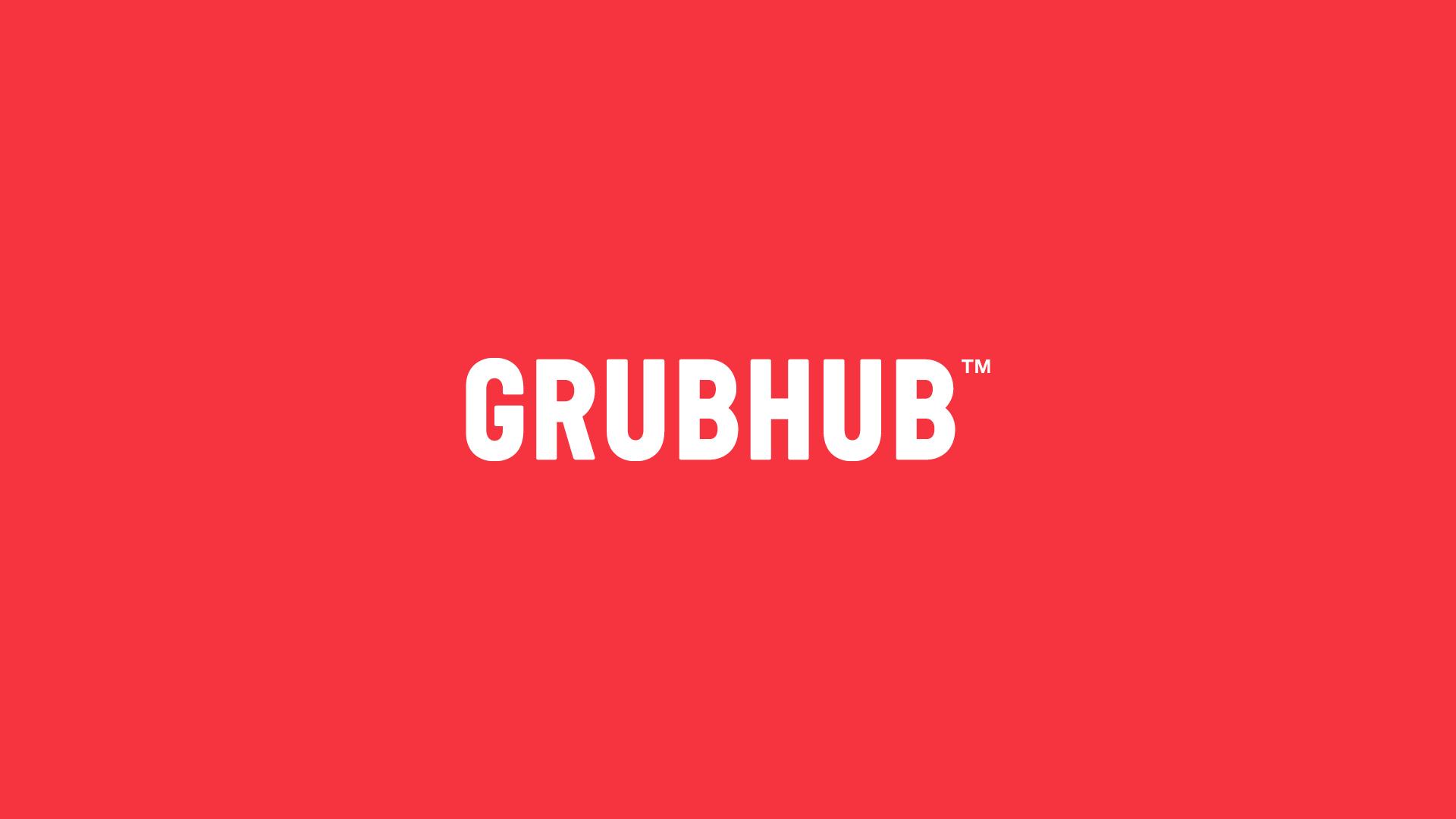 Grubhub Identity By Wolff Olins
