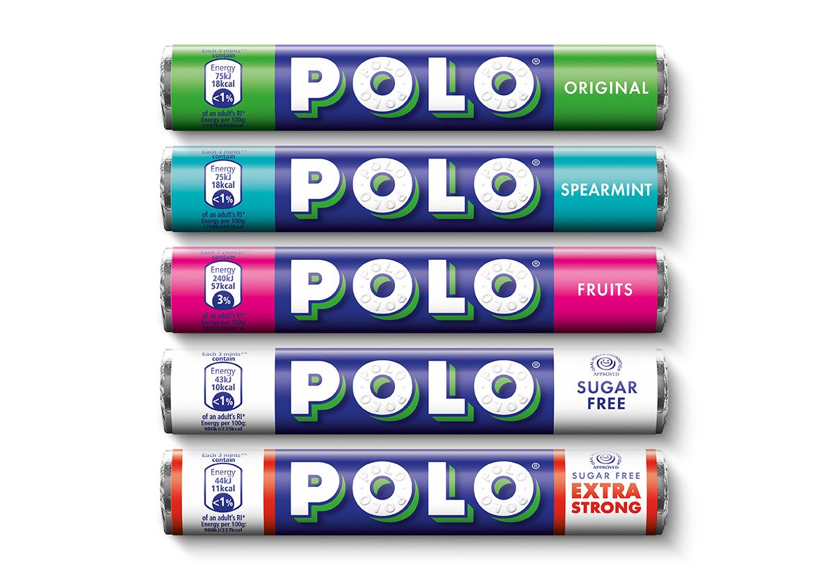 f38db0caf Polo mints freshens up logo and packaging | Design Week