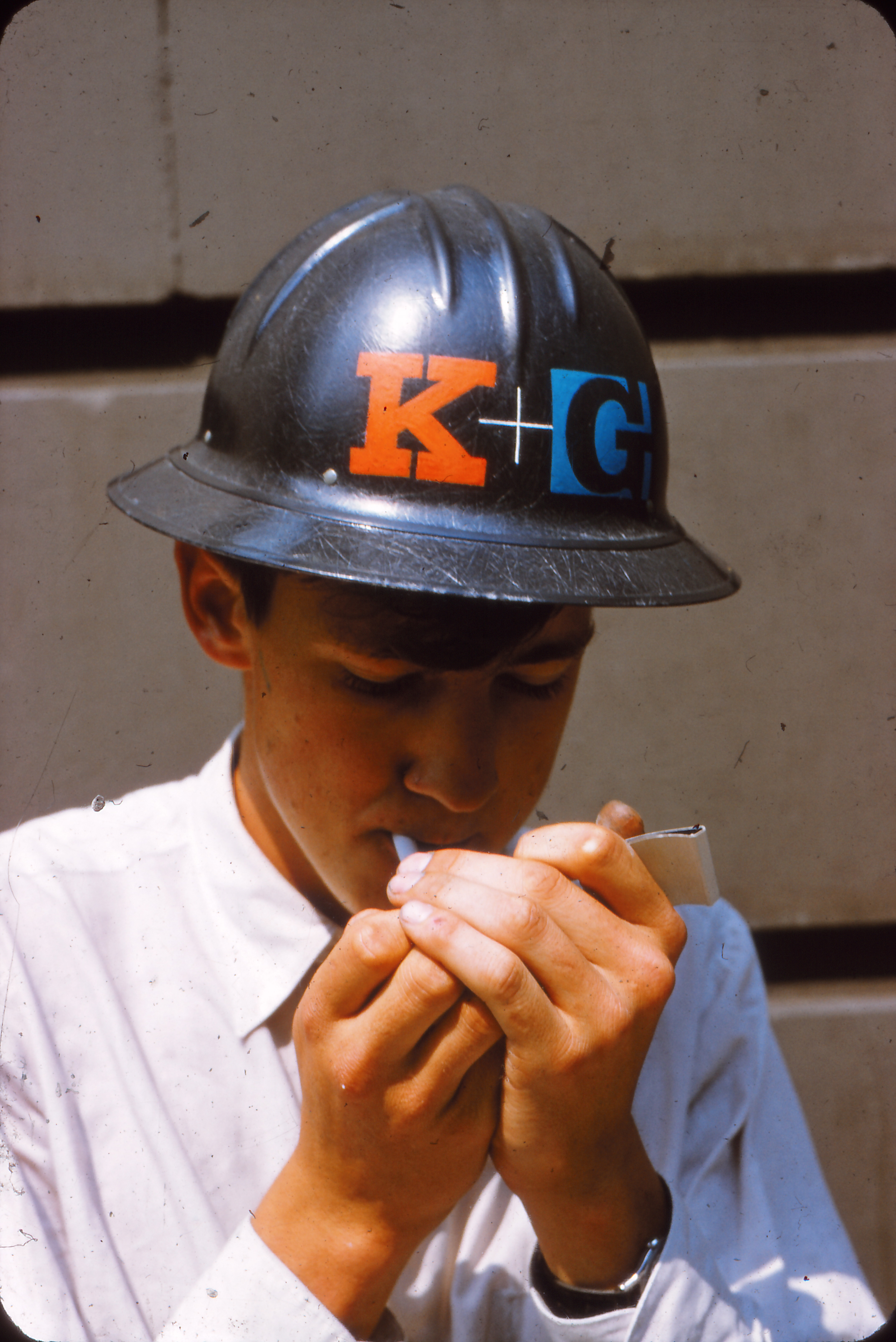 K+G Architects and Engineers identity, 1950s