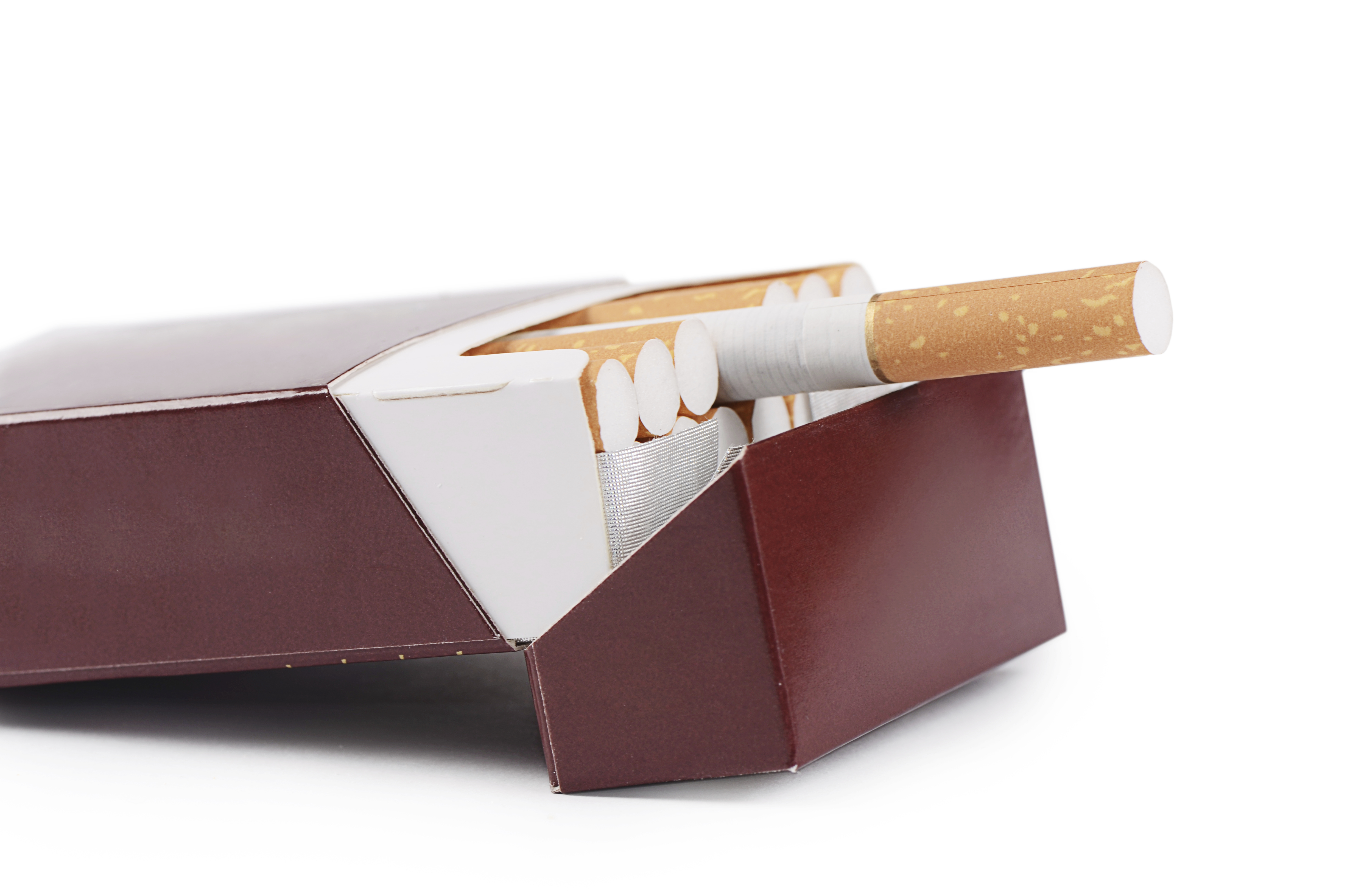 how to pack cigarettes after opening
