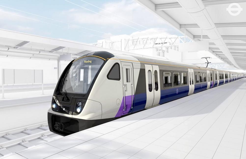 The new Crossrail train