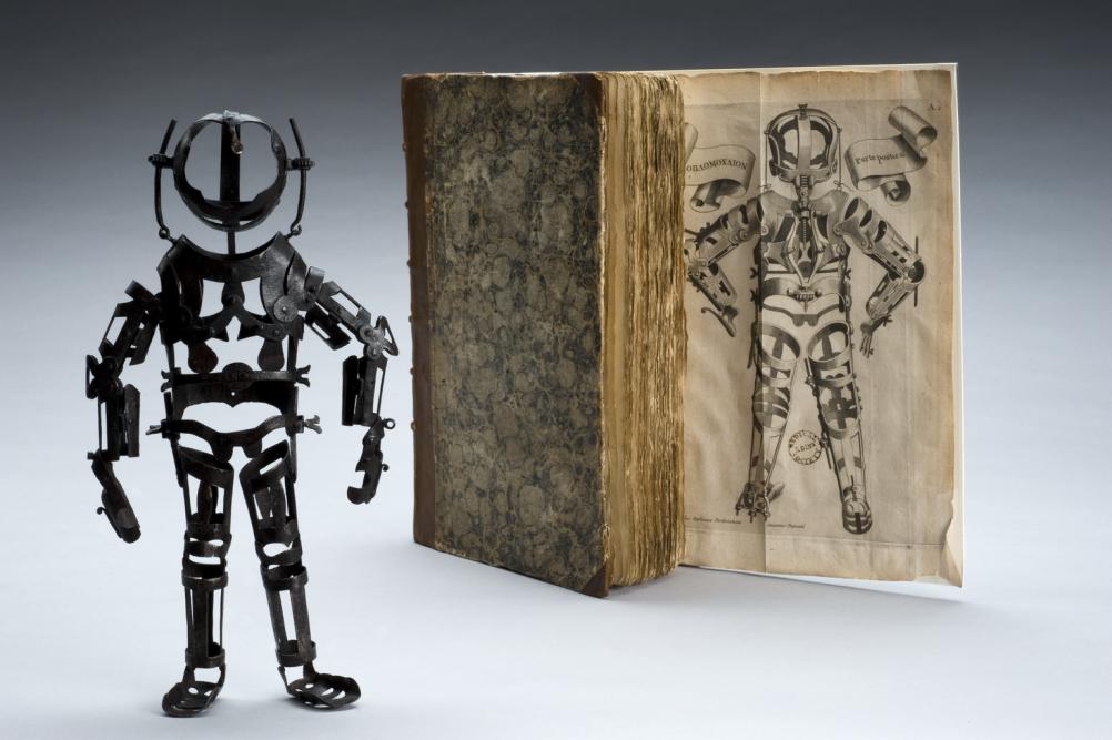 Articulated iron manikin, 1582