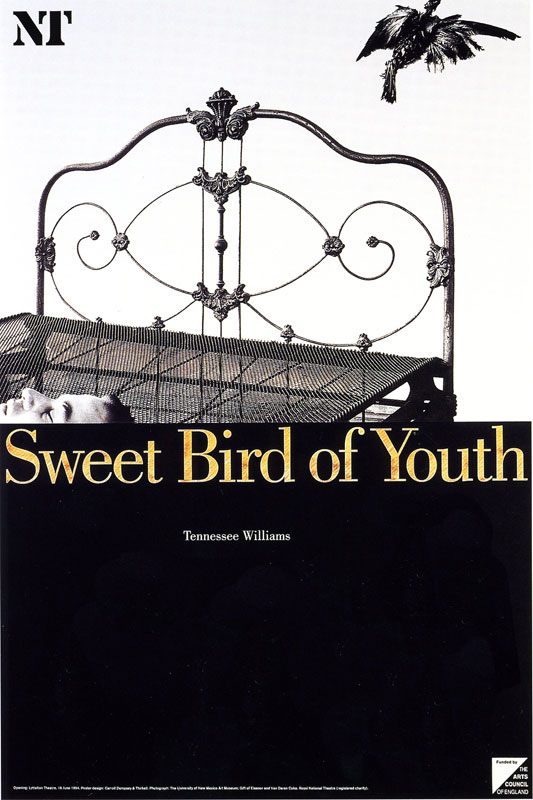 'Sweet Bird of Youth' (1993) - designed by Mike Dempsey/ Carroll, Thirkell & Dempsey
