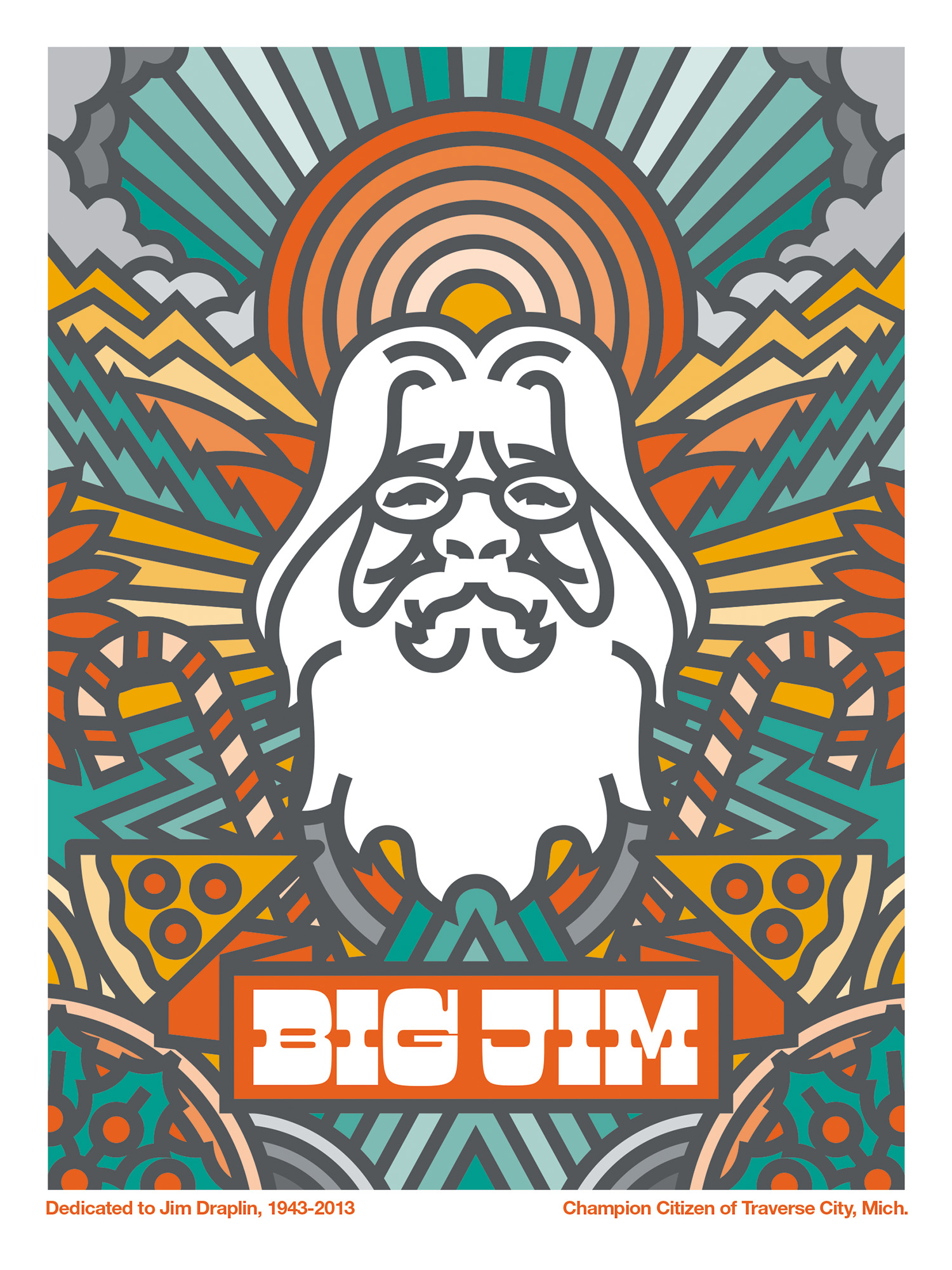Big Jim for Culture of Cult art show, 2014