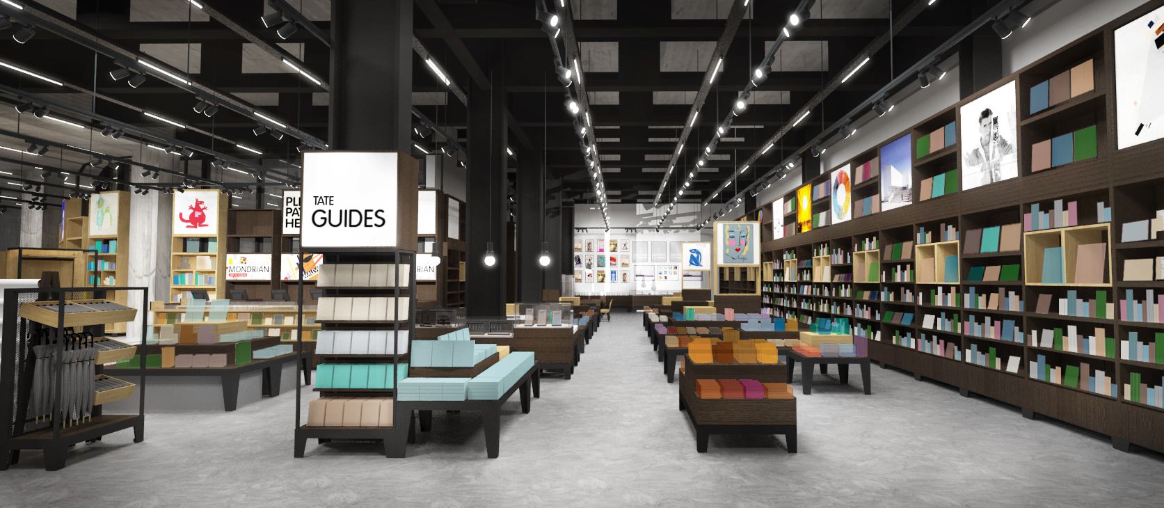 new tate modern retail store will adapt and evolve  design week - tate south entranceperspective ""