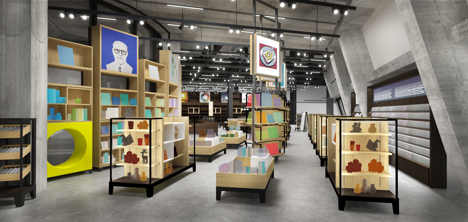 new tate modern retail store will adapt and evolve  design week - tate side entranceperspective