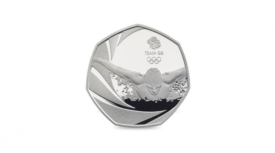 2016 Rio Olympics Coin