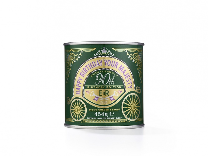 Lyle's Golden Syrup Queen's 90th special edition