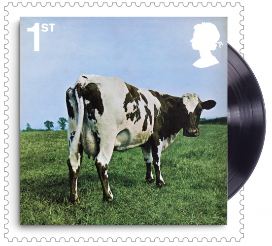 Atom Heart Mother 400% Stamp