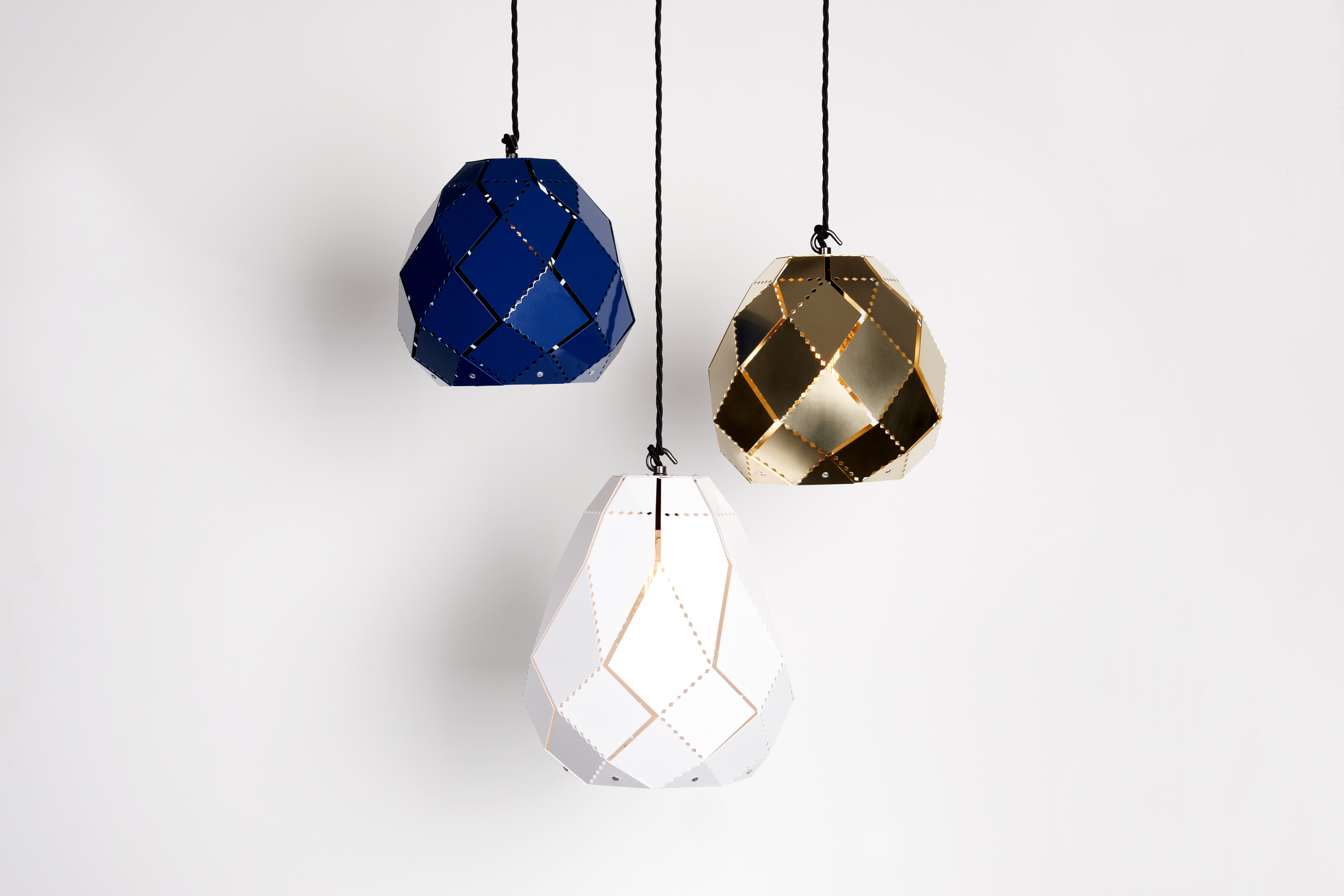 Samuel Bellamy, Moroccan Lamps (cluster) - New Designers 2016, One Year On