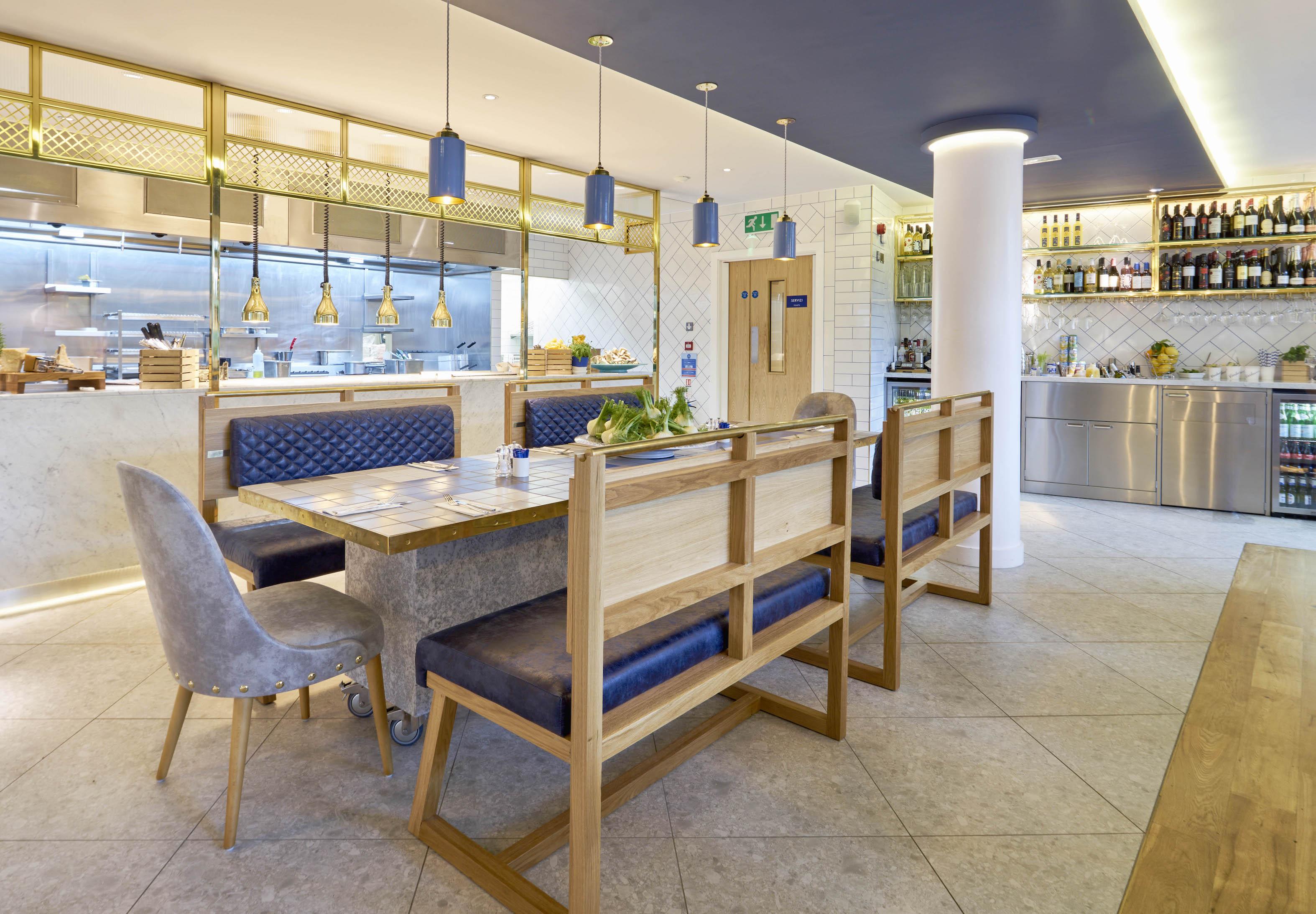 Carluccio s interiors concept by fusion design