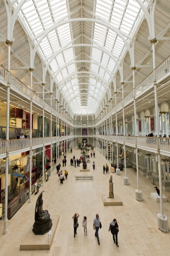 Visualisation of National Museum of Scotland's Grand Gallery. © Ruth Armstrong