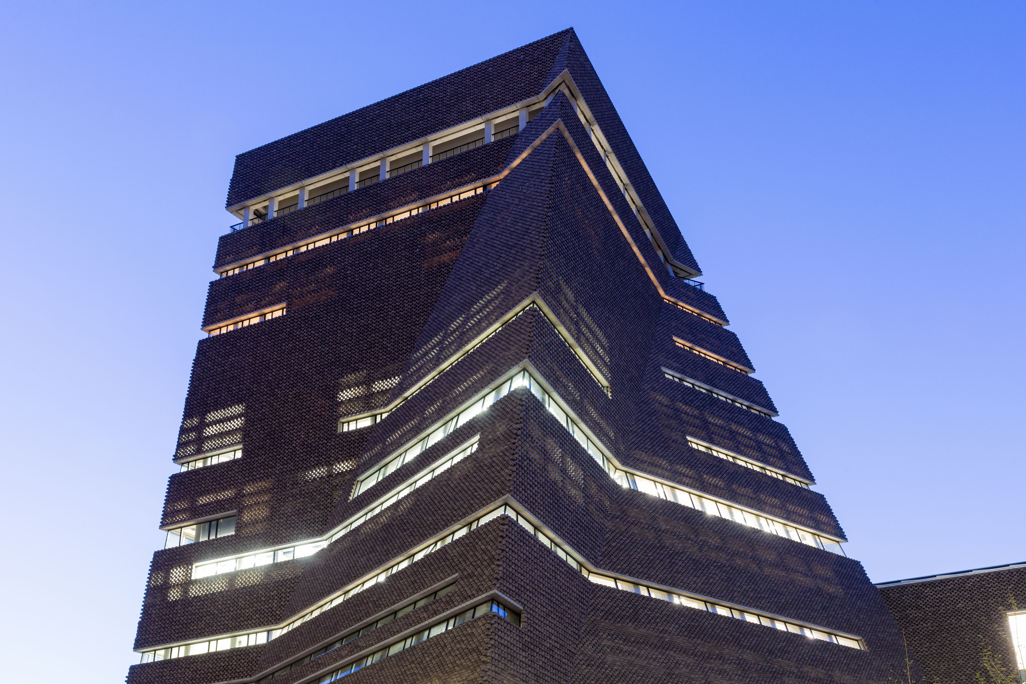 New tate modern interiors unveiled ahead of open date for Tate modern building design