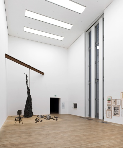 Installation view of Artist Rooms: Joseph Beuys, photo courtesy Tate Photography © DACS, 2016