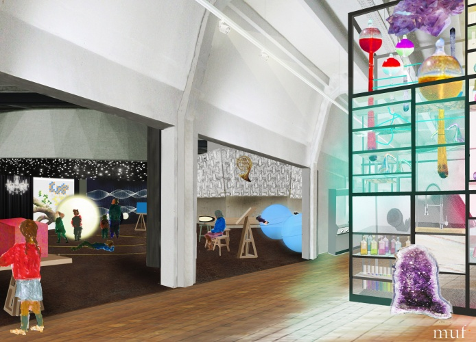 Wonderlab The Statoil Gallery ∏ Science Museum, muf architecture art