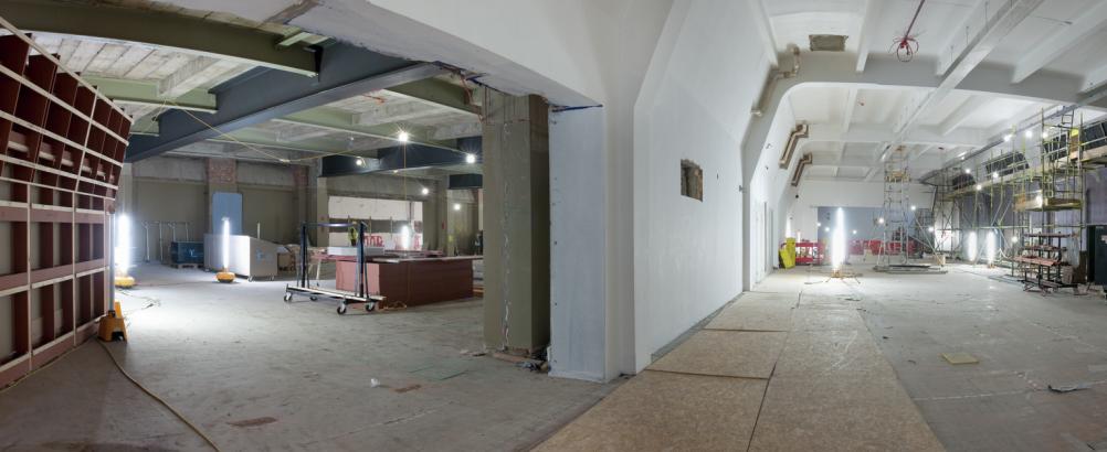 Building work in Wonderlab The Statoil Gallery ∏ Science Museum