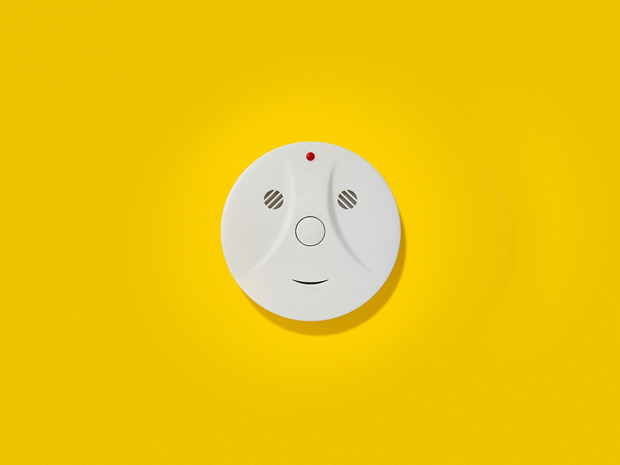 PG Smile amoke alarm