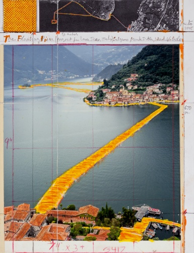 The Floating Piers - The Floating Piers (Project for Lake Iseo, Italy) (1)