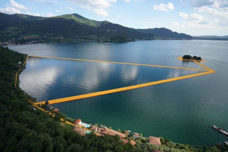 The Floating Piers - The Floating Piers, Lake Iseo, Italy, 2014-16 (3)