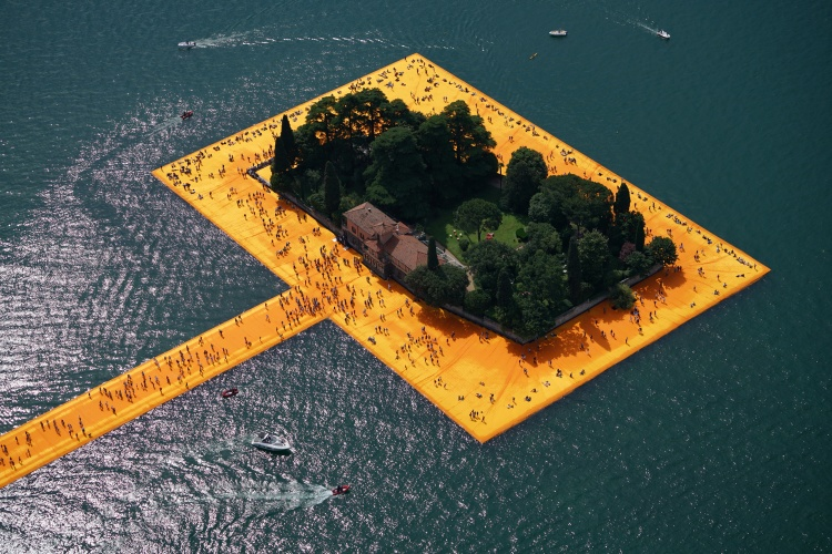 The Floating Piers - The Floating Piers, Lake Iseo, Italy, 2014-16 (4)