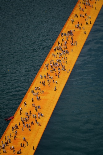 The Floating Piers - The Floating Piers, Lake Iseo, Italy, 2014-16 (5)