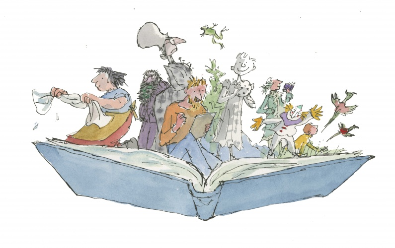 Illustration © Quentin Blake medium