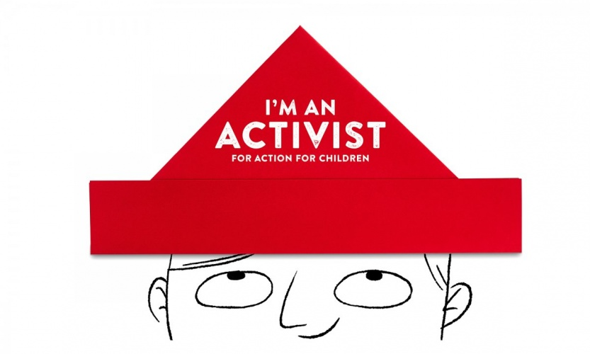 1 - I'm-an-Activist-for-Action-for-Children-paper-hat-campaign-graphic-1200x720