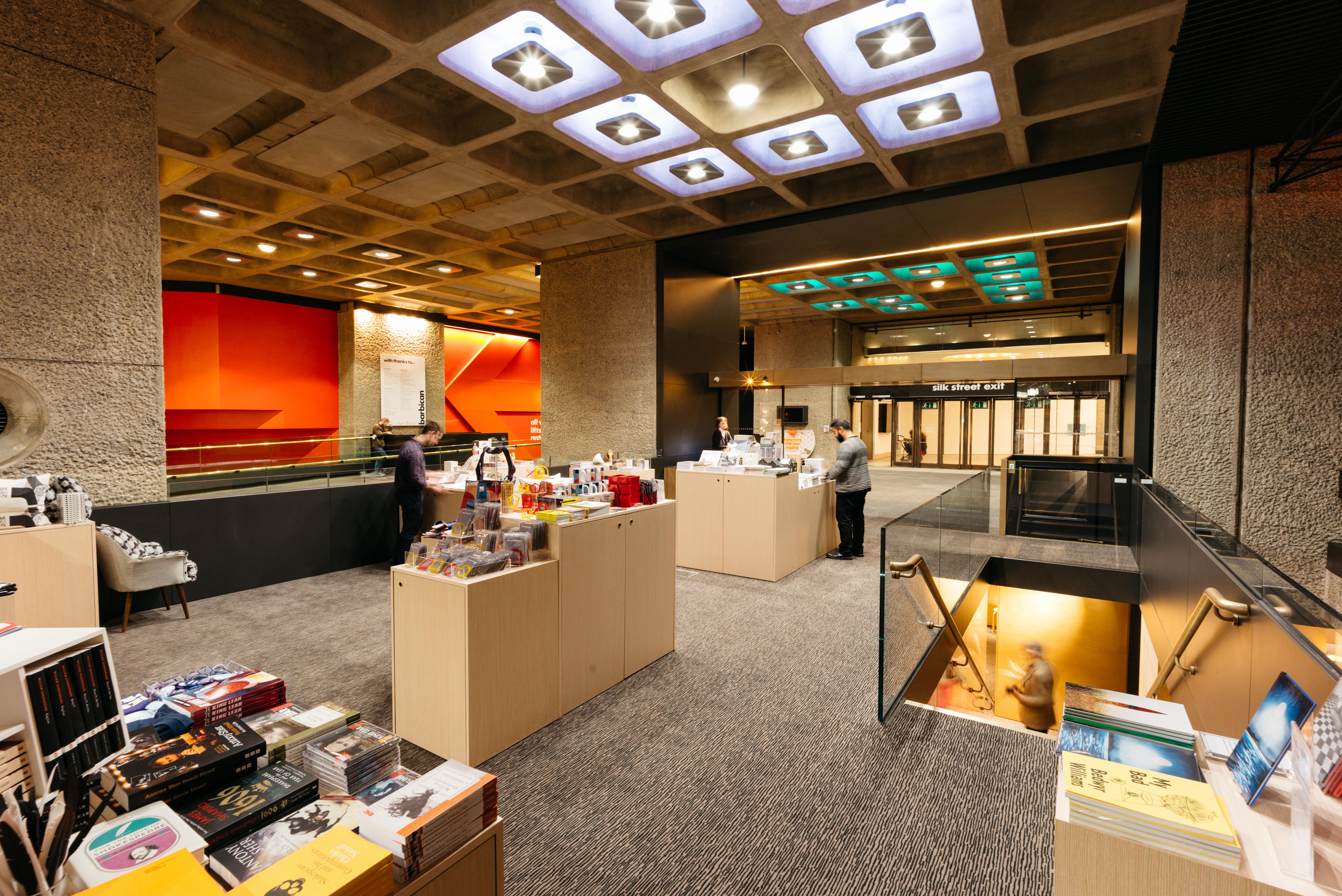 The barbican reveals new shop space design week for Amazon design shop