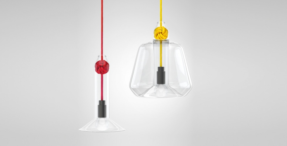 Knot pendant lamp, by Vitamin - 2012