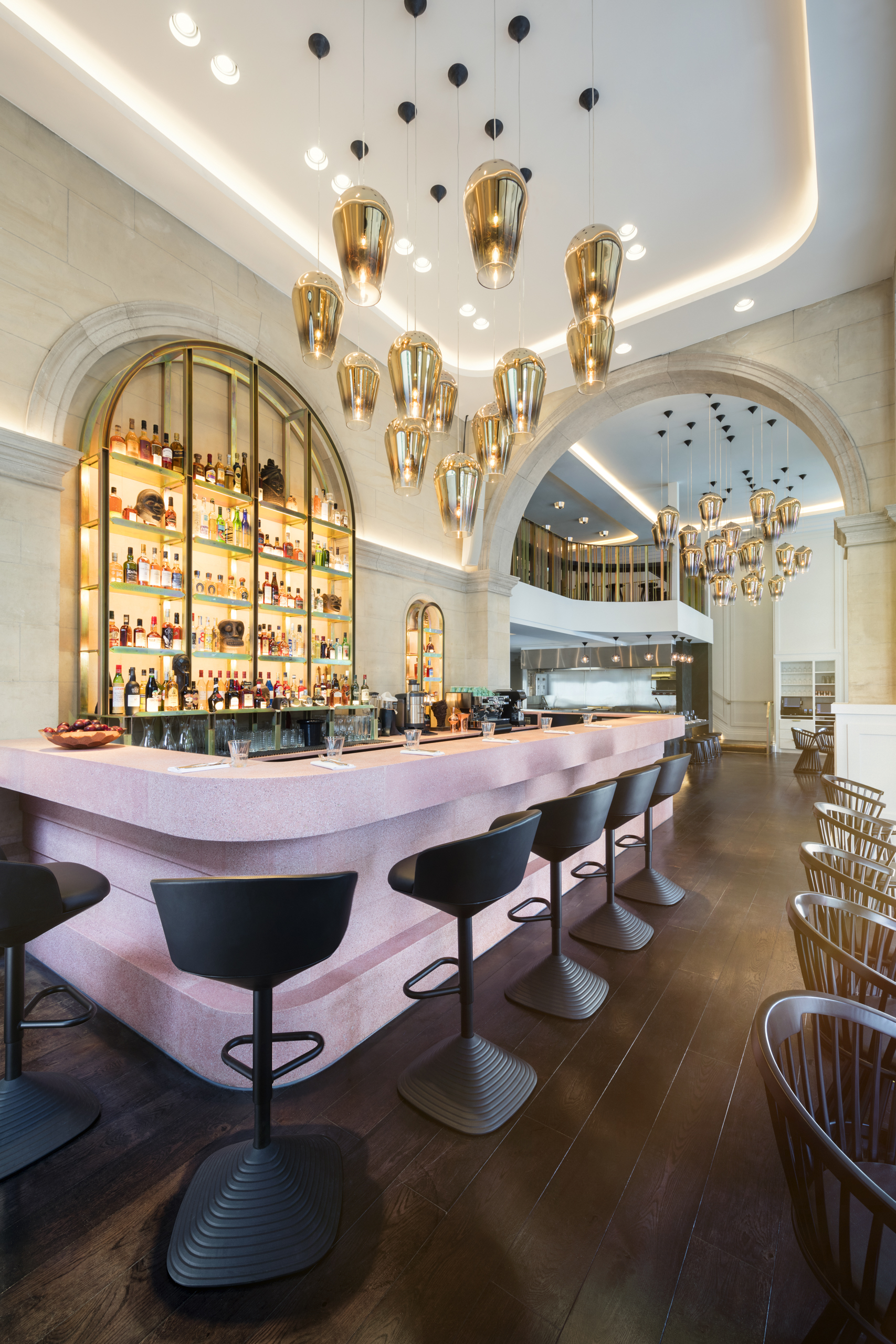 Tom dixon designs interiors for new london restaurant