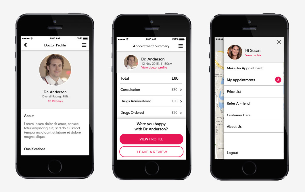 A new app designed to deliver doctors to patients' doors