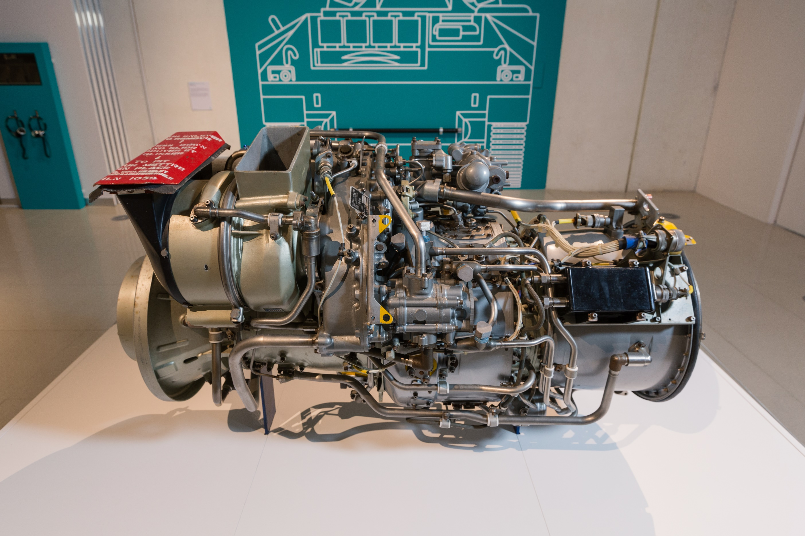 Gem Aero Rolls Royce Engine used in Boeing aircraft
