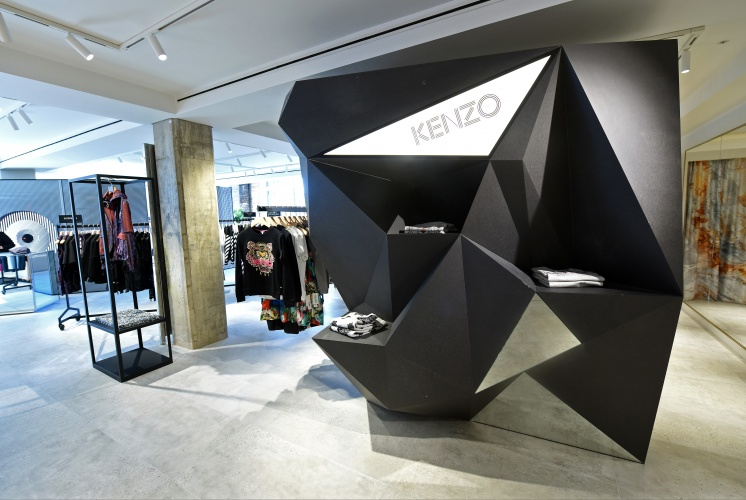 Selfridges reveals interiors of its new designer studio for Interior design studio berlin