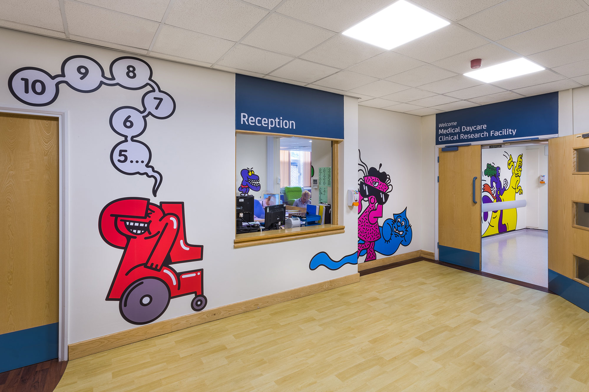 Sheffield Childrens Hospital works with designers on hide and seek