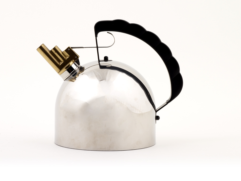 Design Museum, Adopt an Object, Melodic Kettle, Year 1983, Designer Richard Sapper