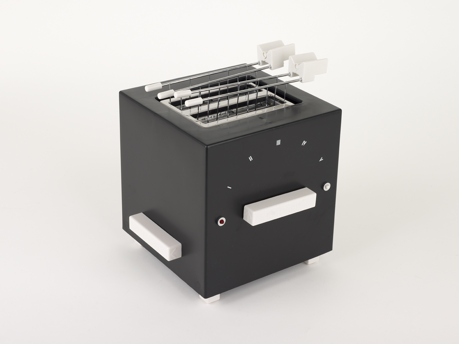 Design Museum, Adopt an Object, Block Toaster, Year 2004, Designer Piero Russi for Trabo