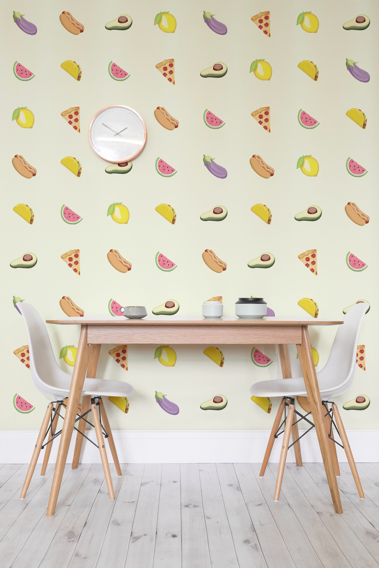Emoji Wallpaper By Murals Wallpaper