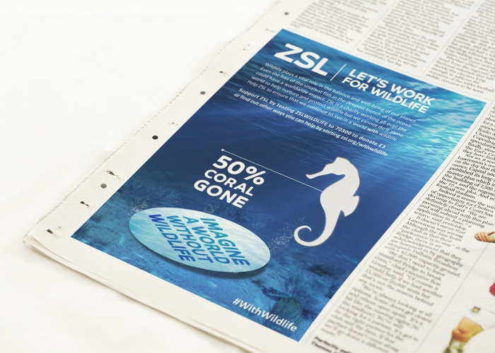 02_ZSL_WORLD WITHOUT WILDLIFE_NEWSPAPER MOCKUP_PRESS