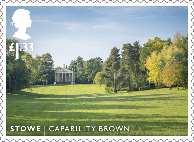 Royal mail releases set of stamps celebrating the work of for Capability brown garden designs