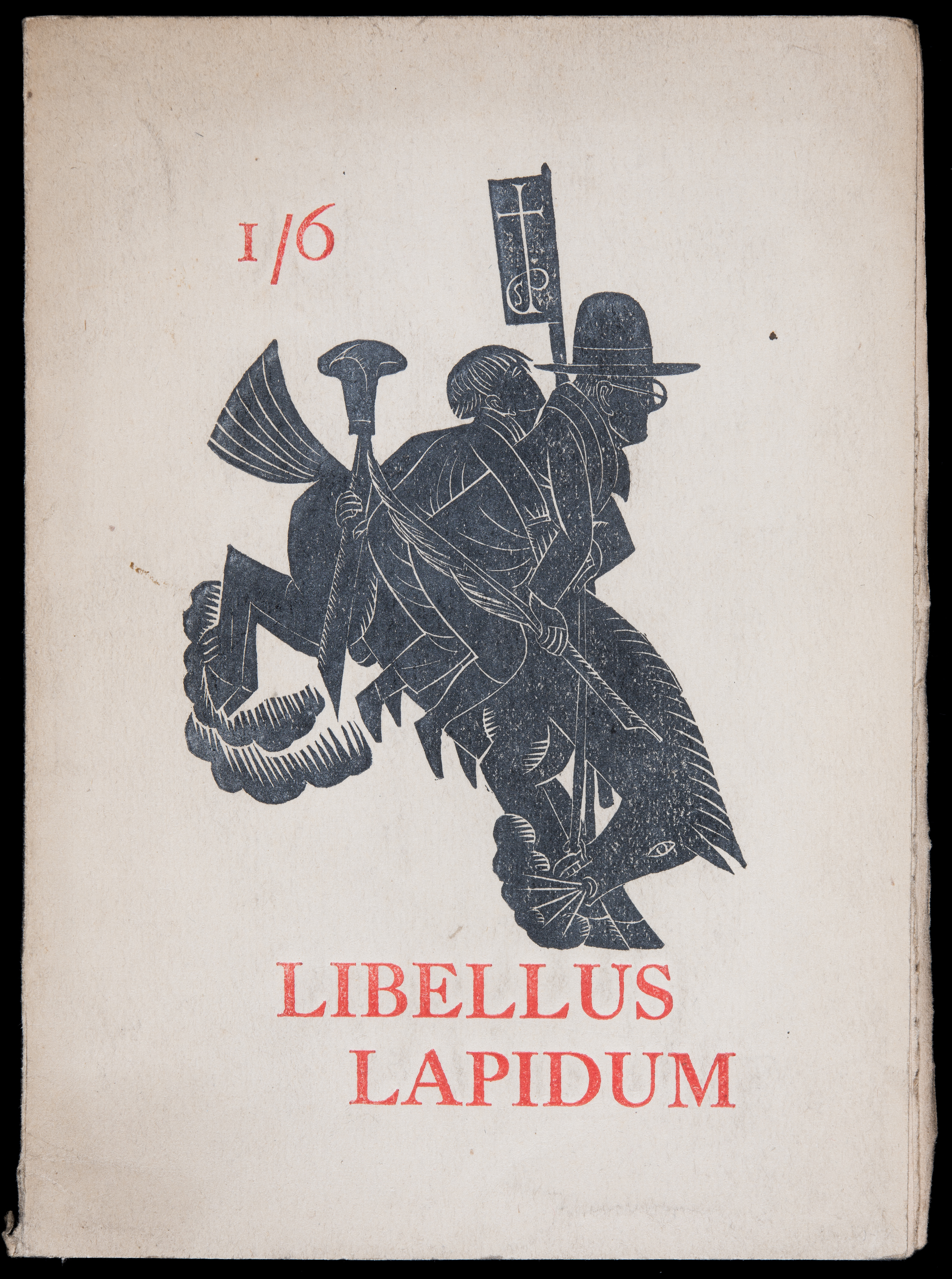 Libellus Lapidum, St Dominic's Press, 1924. Photo Credit Ditchling Museum of Art + Craft