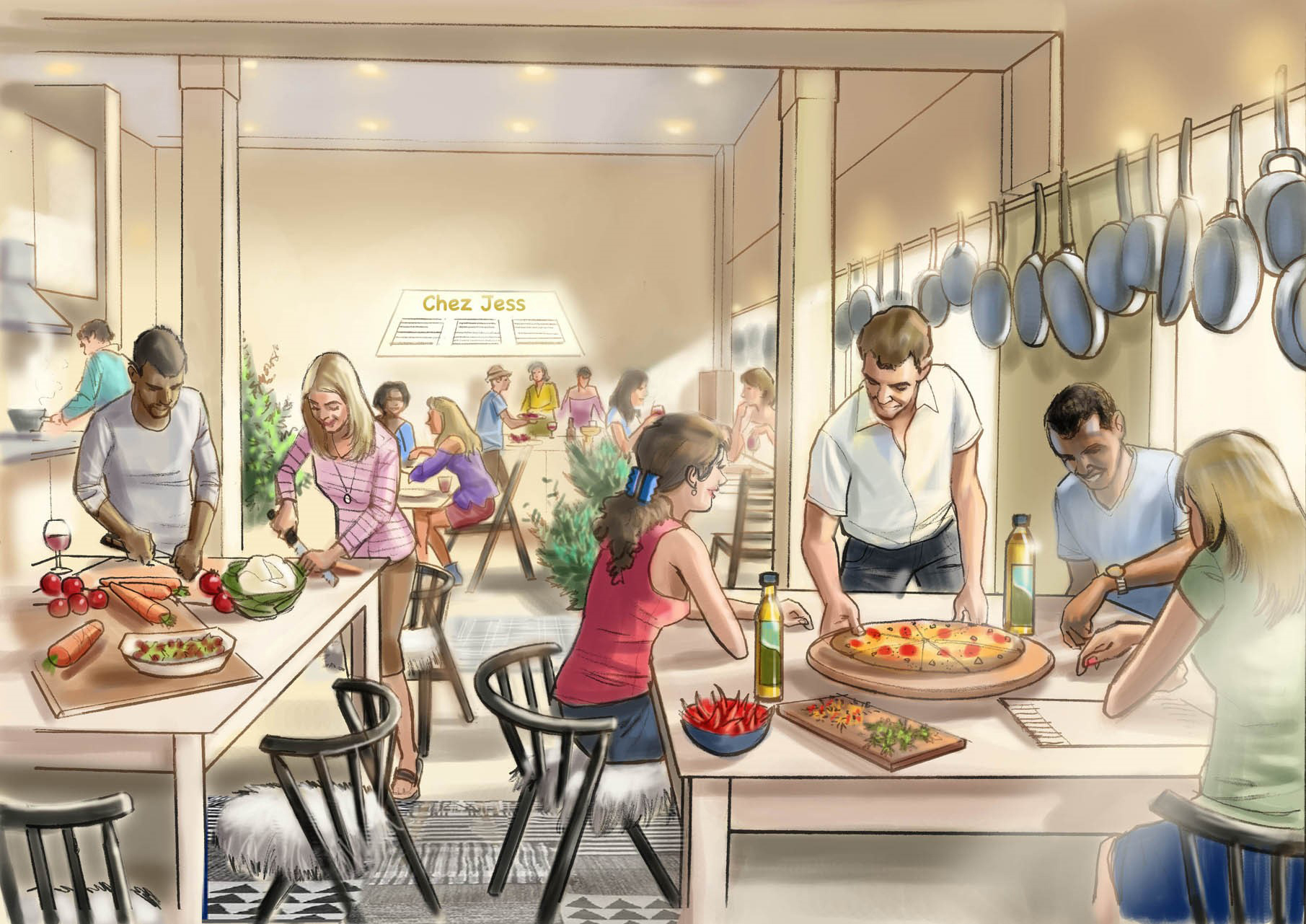 Swedish retailer IKEA is opening a fully immersive dining experience in Shoreditch – a 'Do-it-Yourself Restaurant' where the diners run the diner, becoming the star chefs in their very own restaurant.